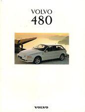 Volvo 480 1992-93 UK Market Sales Brochure S ES Turbo