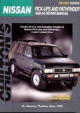 Chilton Repair Manual Repair Guide Nissan Pick-ups,Pathfinder (1989-1995)