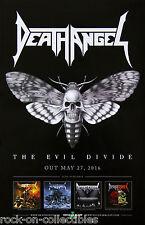 Slayer Anthrax Death Angel Poster Fabric 8x12 20x30 24x36 E-1011