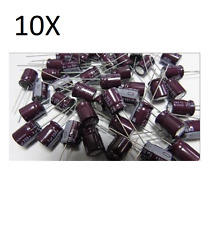 10X ELEKTROLYTKONDENSATOR 1, 5uF 350V 105° schaltungen