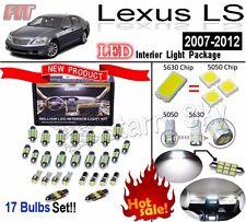 17 Lights LEXUS LS460/600h LED Interior Light Kit Super White Heigh LM Lamp Bulb