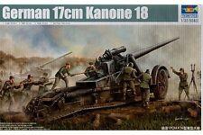 TRUMPETER 02313 1/35 German 17cm Kanone 18