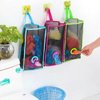 Kitchen Practical Breathable Mesh Wall-Hanging Plastic Garbage Storage Bag Pouch