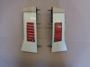 1979 Chevrolet Caprice Left Right Tail Light Extensions