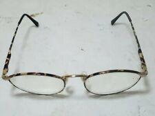 ebca8f0111f Giorgio Armani Vintage Eyeglass Frame Tortoise Oval Prescription Glasses