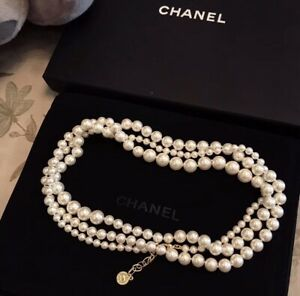 CHANEL Classic Anniversary Edition Pearl Necklace