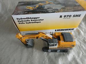 NEW NEUF LIEBHERR 1/50 WSI MODELS R 970 SME Litronic PELLE HYDRAULIQUE Excavator