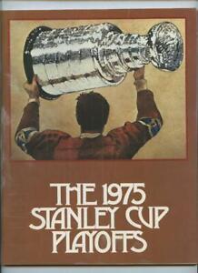 5/1 1975 Hockey Program Philadelphia Flyers NY Islanders Stanley Cup Playoffs