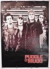 "PUDDLE OF MUDD -Music poster  ALL 4 POSED 24"" X 34"" vintage (b74)"