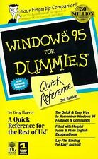 Windows 95 for Dummies Quick Reference 3rd Edition by Greg Harvey (1997)