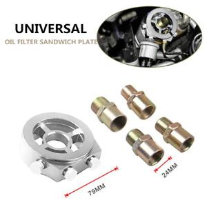 Oil Cooler Filter sandwich plate Adapter AN10 M20x1.5/M22/1.5/M18x1.5 3/4-16 UNF
