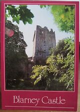 Irish Postcard BLARNEY CASTLE Cork Ireland Red Border John Hinde 2/1886-B