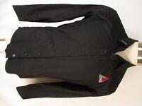 7 Diamonds Ionic Mens Black Long Sleeve Cotton Shirt L