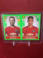 Mason Greenwood Manchester United Fifa 365 2020 Panini Rookie Sticker
