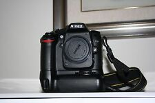 Fotocamera Nikon D80 reflex digitale + macchina fotografica + battery grip!