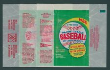 1984 O-PEE-CHEE OPC BASEBALL WAX PACK WRAPPERS / ALL 3 VARIATIONS - NO TEARS