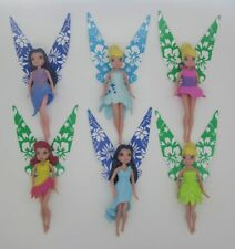 6PCS Disney Fairies Palm Tree Cove Tink Fawn Periwinkle SILVERMIST Rosetta A94B