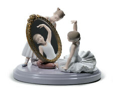 LLADRO MY PERFECT POSE BRAND NEW IN BOX #8571 BALLERINA MIRROR GIRL SAVE$ F/SH