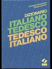 DIZIONARIO ITALIANO TEDESCO - TEDESCO ITALIANO  DUPRE' - ESCHER SEI 1985