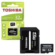 32GB Toshiba M203 Micro SDXC UHS-I U1 Memory Card with SD Card Adapter  32GB