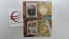 2 x 50 cent 1 euro coin card N 30 31 Vaticano 2019 Vatican Vatikan Ватикан