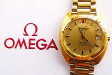 Ω Omega Constellation Electronic cronómetros vintage señores reloj de pulsera 1975