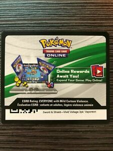 Pokemon SWSH Vivid Voltage 3pk Blister - Vaporeon SWSH072 Code