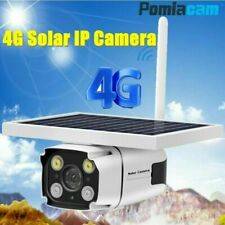 HD 1080P 4G SIM Card Solar Panel Powered IP Camera With Built-In Battery YN88