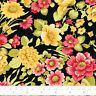 Cotton Fabric FQ Flower Garden Shabby Retro Floral Chic Quilting Patchwork VK91