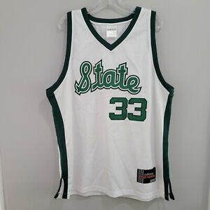 VTG Adidas Authentic Michigan State Magic Johnson 33 Jersey Mens 48 L Lakers