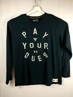 Under Armour Project Rock Pay Your Dues Long Sleeve Men's XXL Black Shirt