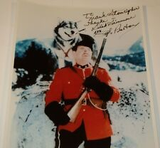 RICHARD SIMMONS / SGT. PRESTON OF THE YUKON /  8 X 10 COLOR AUTOGRAPHED PHOTO