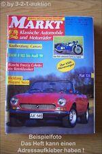 Oldtimer Markt 4/91 Fiat 124 Camaro NSU DKW Audi