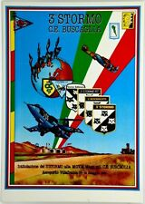 Cartolina Aviazione - 3° Stormo C.E. Buscaglia Aeroporto Villafranca VR. 19 Magg