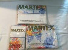 Vintage Martex 4 Piece Full / Double Sheet Set Pillowcases FESTIVAL