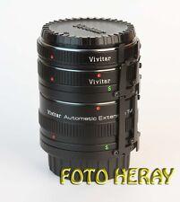 Vivitar Extension Tube entre anillos 3er set 36mm 20mm 12 mm Minolta Sr 02655
