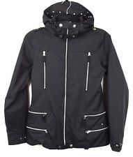 Burton Women's S Ski Jacket Removable Hood Snowboard Black Coat RA02h
