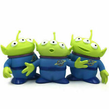 Disney Toy Story Alien Plastic Figures Toy Xmas Gifts Collectible Toys 6in 3pcs