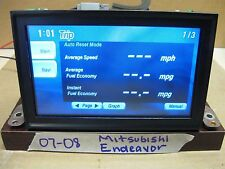 2007-08  MITSUBISHI ENDEAVOR MULTI-CENTER SCREEN GPS DISPLAY
