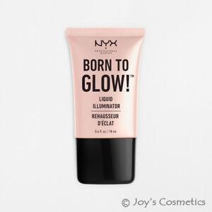 "1 NYX Born To Glow Liquid illuminator ""LI 01 - Sunbeam"" Joy's cosmetics"