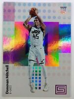 2017-18 Panini Status Donovan Mitchell Rookie RC #122, Utah Jazz