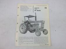 International Harvester Farmall 966 Tractor Sales Brochure