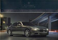 Maserati Quattroporte & Quattroporte S 2008-09 UK Market Sales Brochure