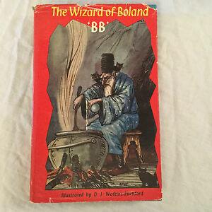 """Denys Watkins-Pitchford """"BB"""" - The Wizard of Boland - 1st/1st 1959 in Jacket"""