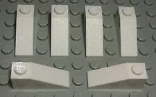 Lego Stein schräg positiv 1x3 Weiss 6 Stück                               (1277)