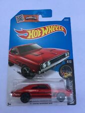 Hot Wheels 2016 '69 Dodge Charger 500 #84/250 Red Long Card