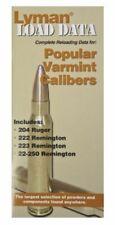 Lyman Load Data Book .20.22 Caliber Rifle