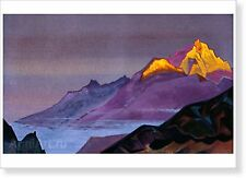 "Path to Shambhala. By Nicholas Roerich. Fine art print NEW 20 x 28 """