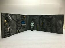 2 Custom Star Wars SCI Fi Diorama Wall Panels for 3.75 figures Great for a shelf