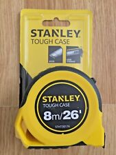 Stanley STHT30176 Tough Case Tape Measure 8m 26' 25mm Wide Blade set of 2